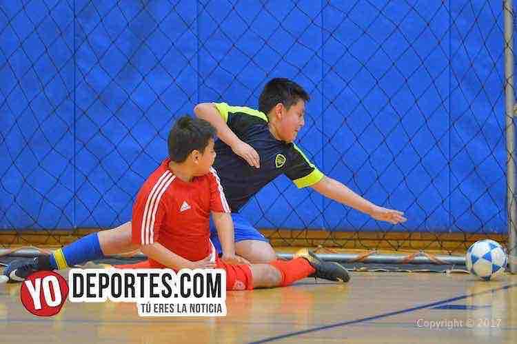 USA le ganó a los Jrs en futbol infantil ecuatoriano de Chicago