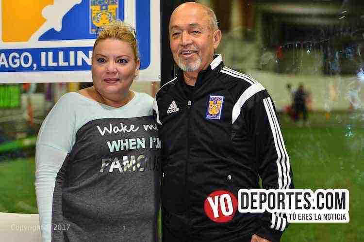 Academia Oficial Club Tigres de Monterrey Chicago-Marcelino Gutierrez