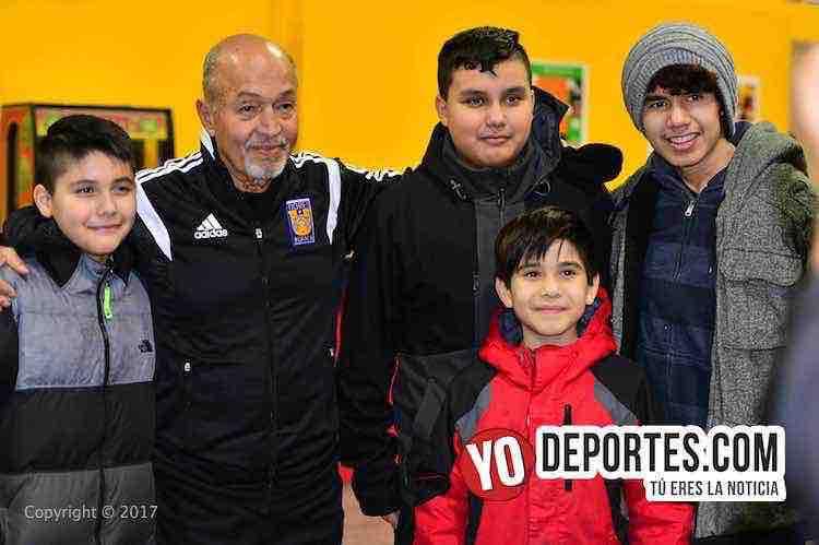 Academia Oficial Club Tigres de Monterrey Chicago-futbol-Marcelino Gutierrez