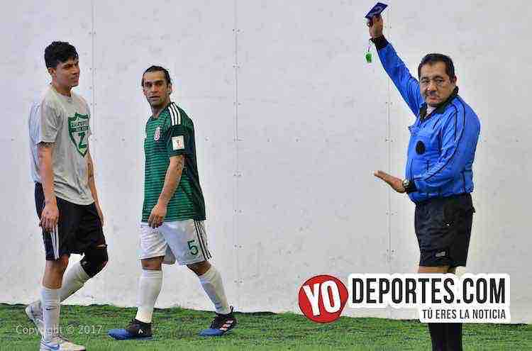 Arbitro Elias Vazquez-Douglas Boys-Zacatepec-Liga Douglas