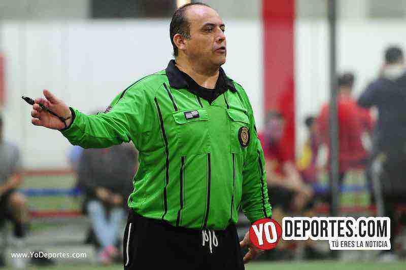 Arbitro Enrique Benitez-Hidalgo Veracruz-Deportivo Azteca-Liga 5 de Mayo