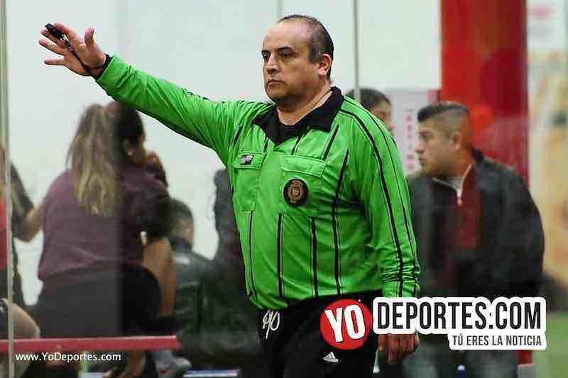 Arbitro Enrique Benitez-UNAM-Pumas Floresta-Liga 5 de Mayo