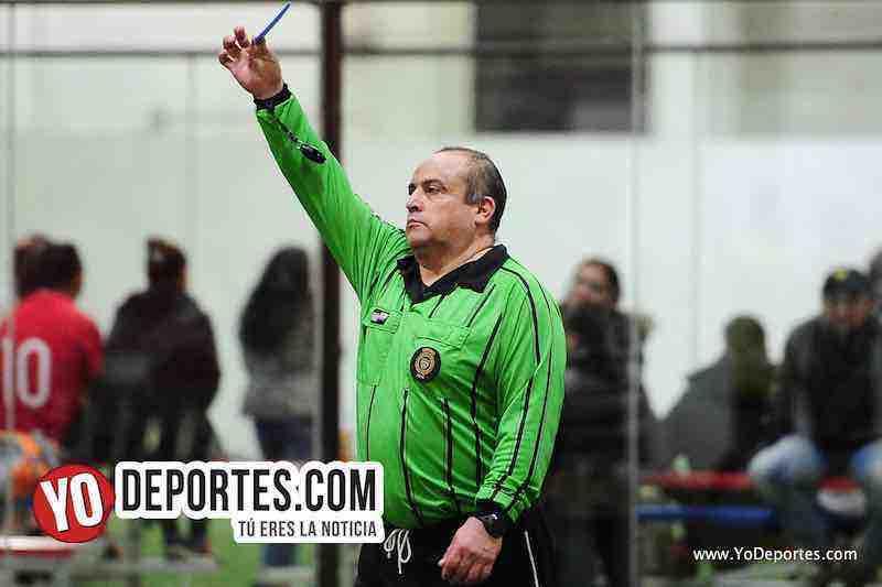 Arbitro Enrique benitez-San Marcos-Club Silao-Liga 5 de Mayo