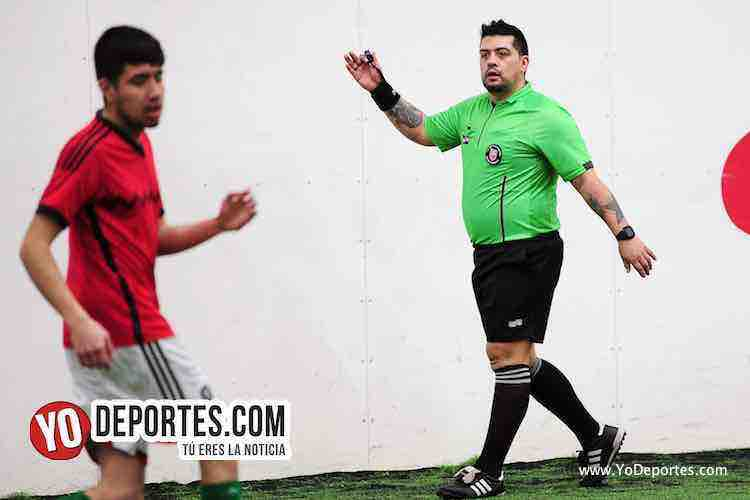 Arbitro Francisco Castro-Real Madrid-Iramuco-Liga Douglas