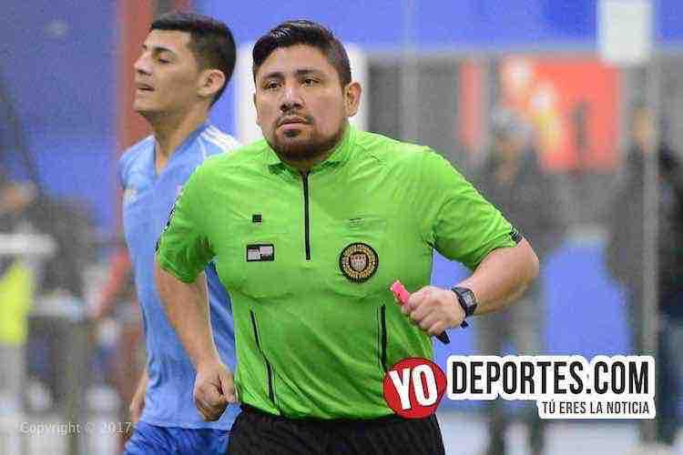 Arbitro Gio Gonzalez-Gladiadores-Juventus-Liga Latinoamericana