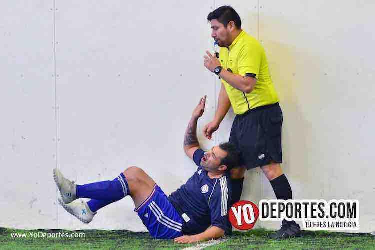 Arbitro Gio Gonzalez-Jose Fraire-Iramuco-Deportivo Amistad-Liga Douglas-Domingo