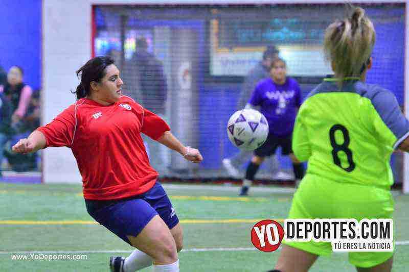 Atletico Femenil-AKD Premier Academy Soccer League-mujeres jugando futbol