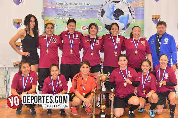 CD Vagos campeonas de la Liga Interamericana y Panteras segundo lugar