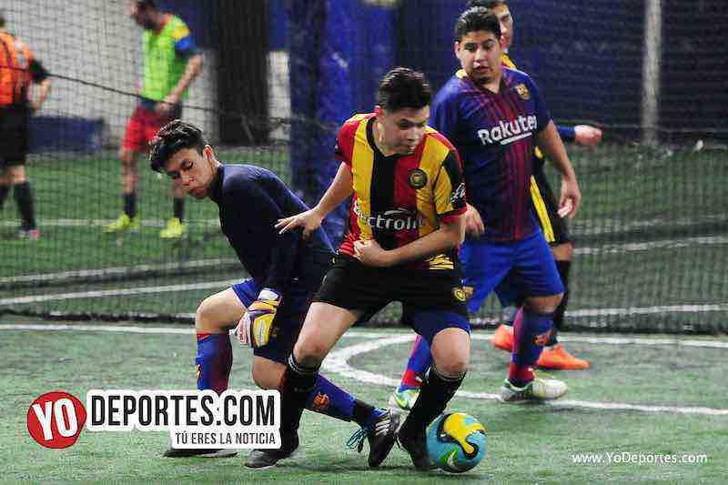 Cachimberos-Deportivo Mexico-Liga Taximaroa-chicago indoor futbol