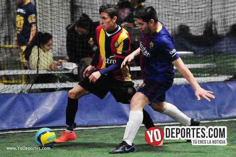 Cachimberos-Deportivo Mexico-Liga Taximaroa-soccer indoor chicago