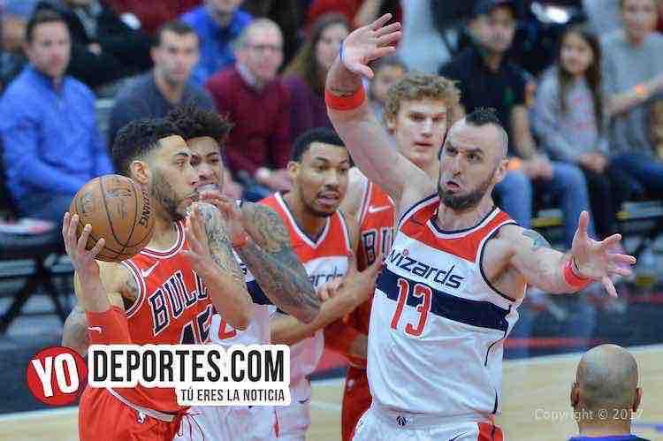 Los Wizards vinieron y le ganaron a los Bulls en Chicago