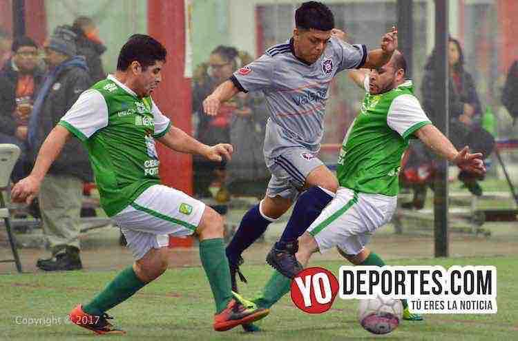 Los Angeles golean 5-0 al Deportivo García en la Liga 5 de Mayo
