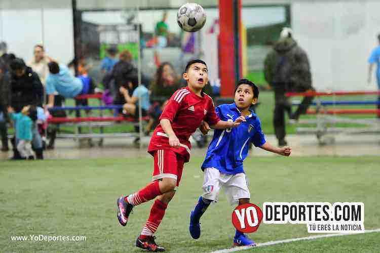 Empate entre Dynamo y Latin Angels de Premier Academy Soccer League