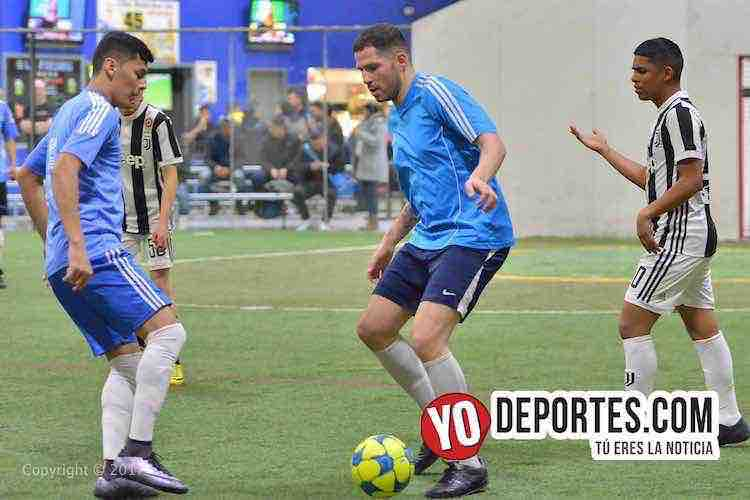 Gladiadores-Juventus-Liga Latinoamericana-futbol chicago