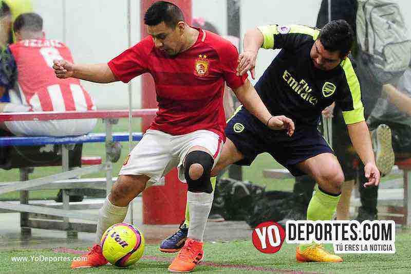 Hidalgo Veracruz-Deportivo Azteca-Liga 5 de Mayo-indoor soccer