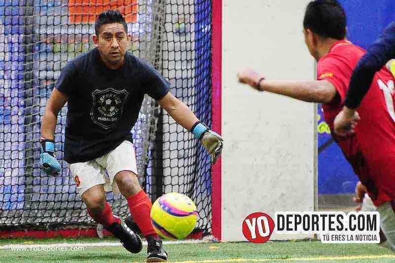 Hidalgo Veracruz-Deportivo Azteca-Liga 5 de Mayo-portero soccer