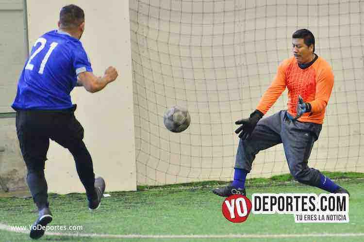 Iramuco contra Deportivo Amistad Liga Douglas-futbol indoor chicago