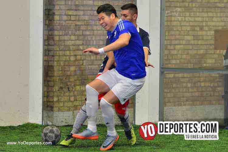 Iramuco contra Deportivo Amistad Liga Douglas-futbol indoor