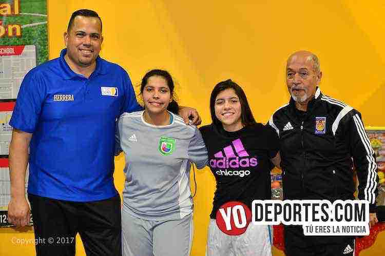 Juan Carlos Herrera-Marcelino Gutierrez-Academia Oficial Club Tigres de Monterrey Chicago
