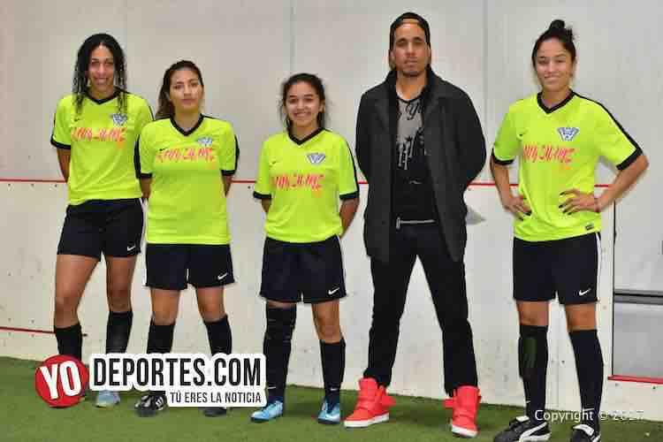 Lady Sharks Champions femenil Premier Academy Soccer League