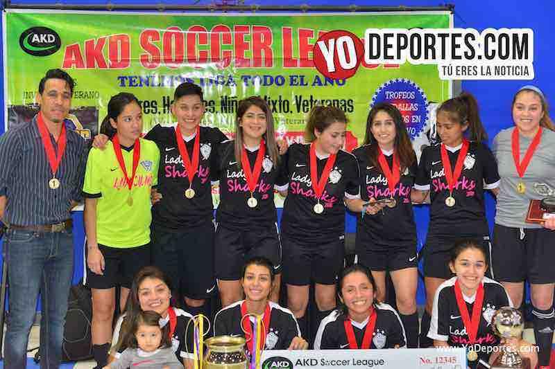 Lady Sharks ganan la Champions Femenil de AKD Premier Academy Soccer League