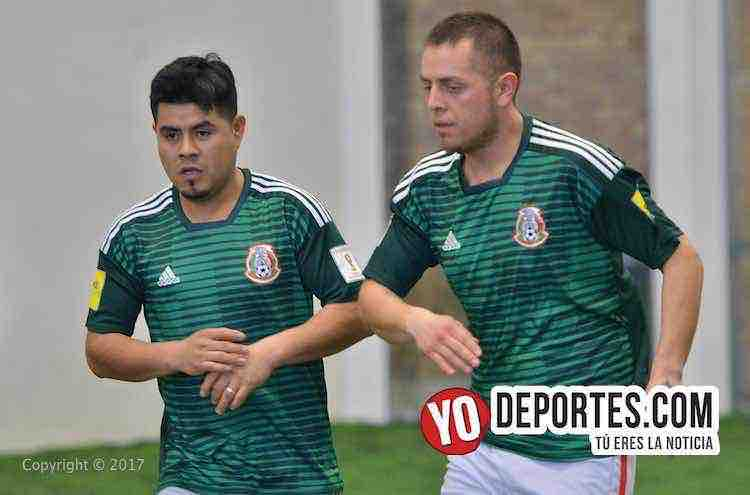 Rafael Flores-Julian Barriga-Douglas Boys-Zacatepec-Liga Douglas
