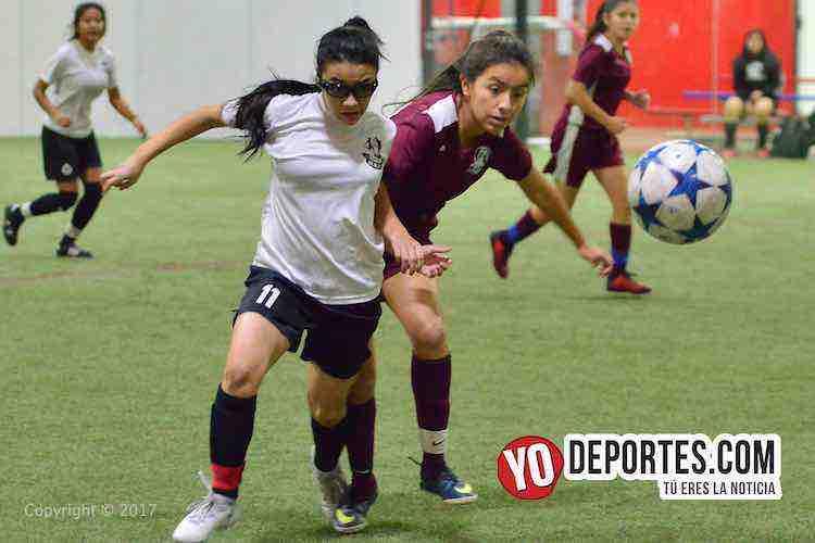 Real FC gana con goles de Joanna y Julissa Solano en AKD Premier Academy Soccer League