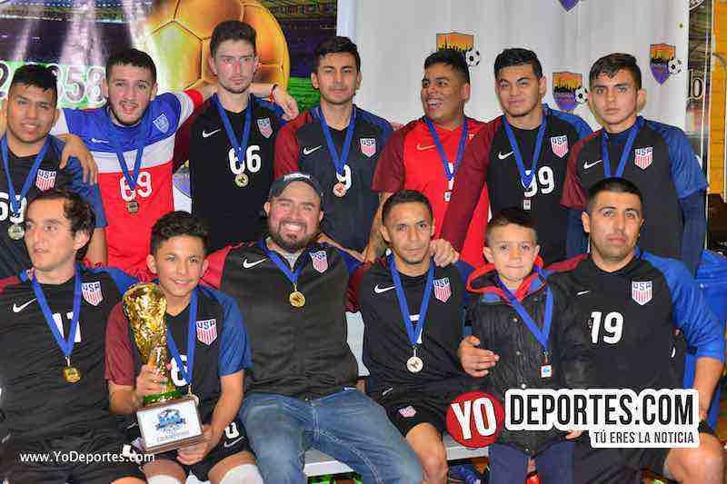 TMT campeón de invierno en Mundi Soccer League