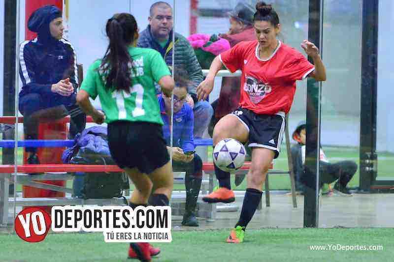UCSN Gonzo-Greenwood-AKD Premier Academy Soccer League-chicago futbol femenil
