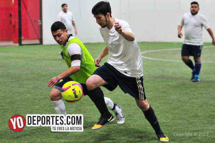 UNAM-Deportivo Madrid-Liga 5 de Mayo-chicago futbol indoor