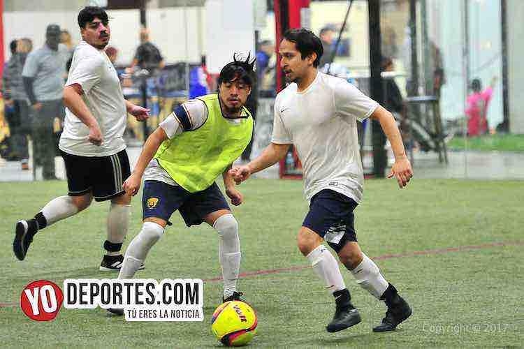 UNAM-Deportivo Madrid-Liga 5 de Mayo-futbol chicago