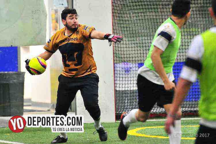 UNAM Deportivo Madrid Liga 5 de Mayo-futbol