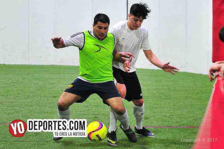 UNAM-Deportivo Madrid-Liga 5 de Mayo-indoor chicago soccer