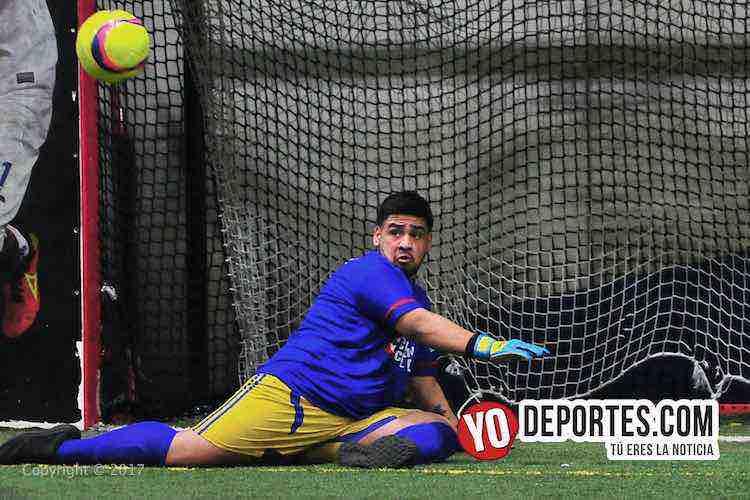 UNAM-Deportivo Madrid-Liga 5 de Mayo-portero futbol indoor