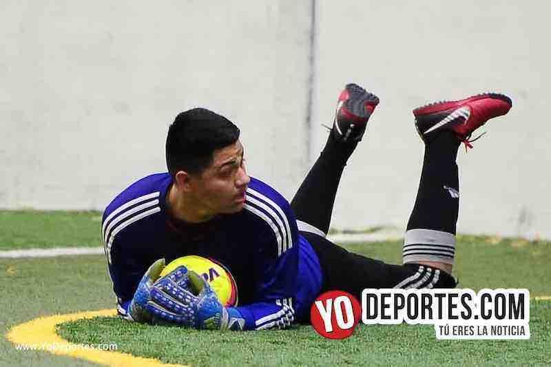 UNAM derrota a Pumas Floresta-portero futbol indoor chicago