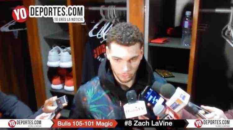 Con robo de Zach LaVine los Bulls derrotan al Orlando Magic
