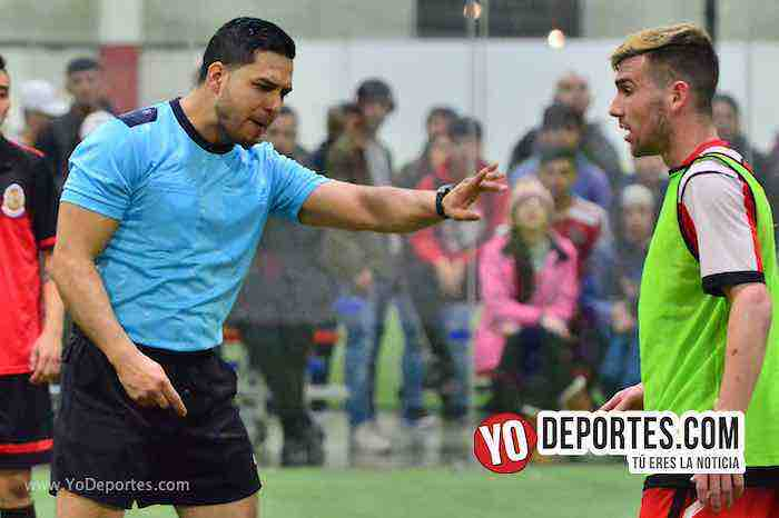 Arbitro Alejandro Aguilar-Guadalajara-Deportivo Guerrero-champions Liga Latinoamericana