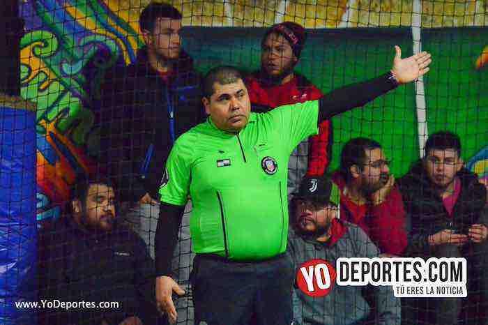 Arbitro Hector Cardenas-Cachimberos Nueva Italia Liga Taximaroa