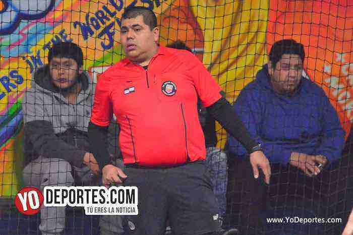 Arbitro Hector Cardenas-Preciosos-Danger Field-Liga Taximaroa