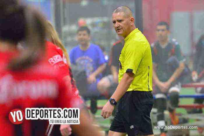 Arbitro Jesse Aguirre-San Luis-Monaco-Liga Latinoamericana Lunes-Final Femenil
