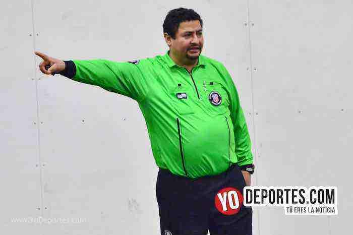 Arbitro Juan Cortez-Los Lobos Sierrenos-Yautepec-Liga San Francisco