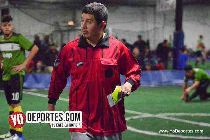 Arbitro Reynaldo Reina-Preciosos-Danger Field-Liga Taximaroa