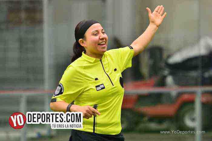 Arbitro Rosalba Luna-Mizantla-Zacatepec-Liga Douglas