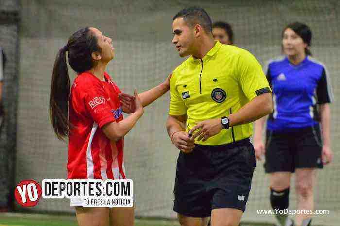 Arboitro John Montoya-San Luis-Monaco-Liga Latinoamericana Lunes-Final Femenil