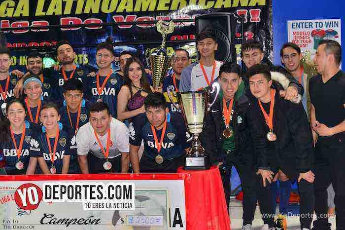 Fotos y video: Boca Jr. gana final COED a Coalcoman