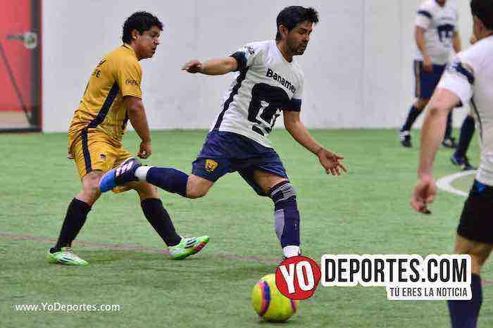 Deportivo Cuamio-Pumas Floresta-Liga 5 de Mayo-indoor socer chicago