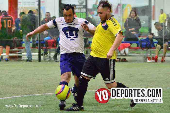 Deportivo Cuamio desbanca a Pumas Floresta del cuarto lugar en la Liga 5 de Mayo