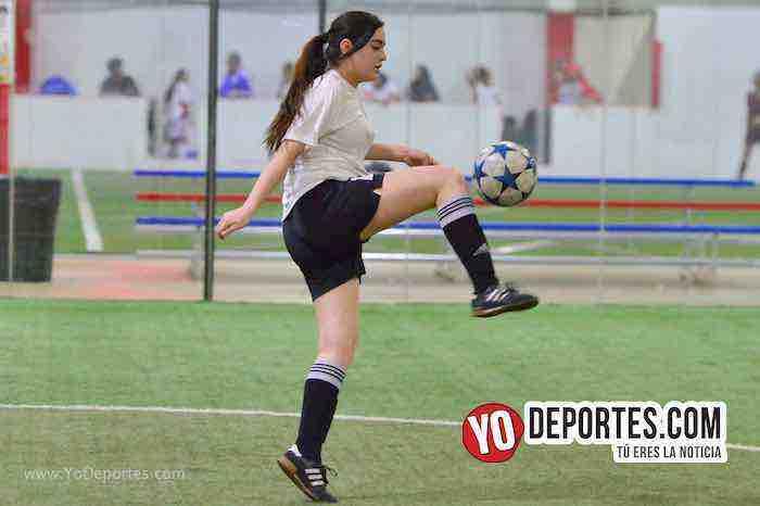 Empatadas Real FC y Scorpions AKD Premier Academy Soccer League-futbol chicago