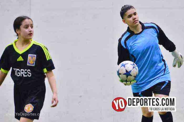 Empatadas Real FC y Scorpions AKD Premier Academy Soccer League-futbol femenil
