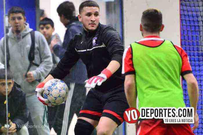 Guadalajara-Deportivo Guerrero-champions Liga Latinoamericana-portero soccer indoor